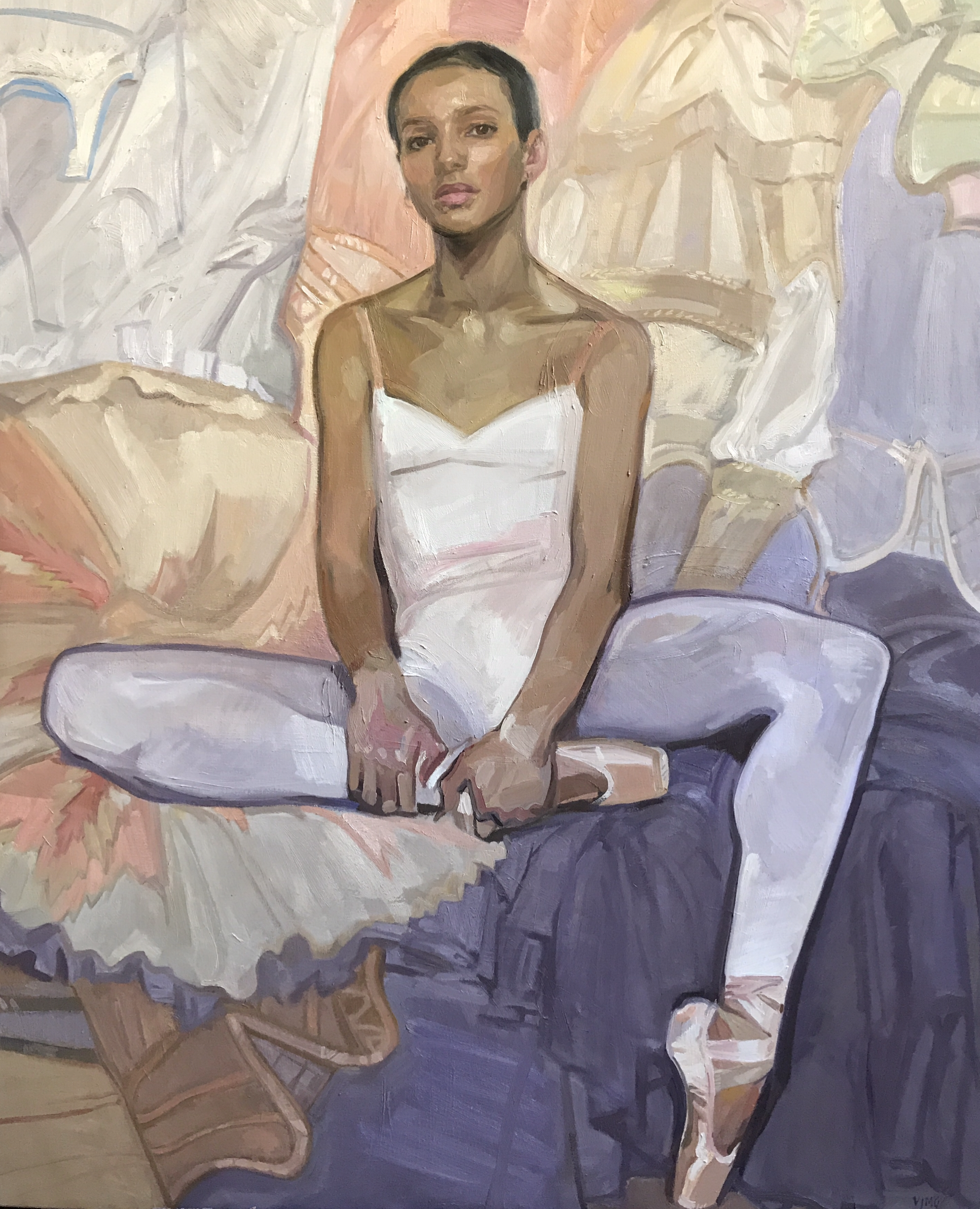 Francesca Hayward – 2018 BP Portrait Award Exhibition at National Portrait Gallery